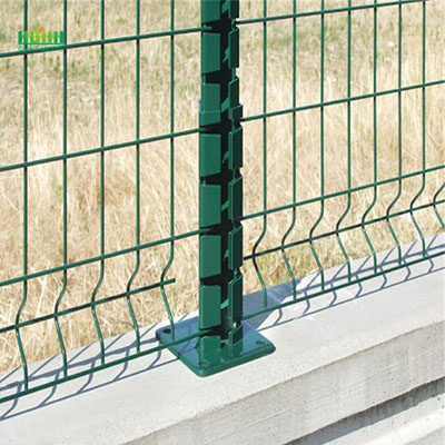 3D Curved Wire Fencing Panel