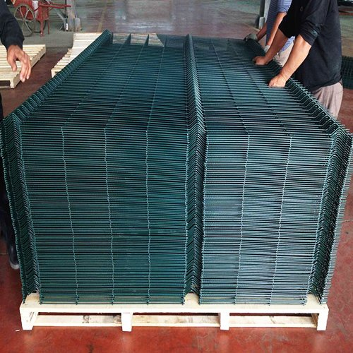 3d Curved Wire Mesh Fence 1