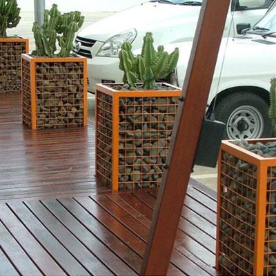 welded wire mesh gabion baskets