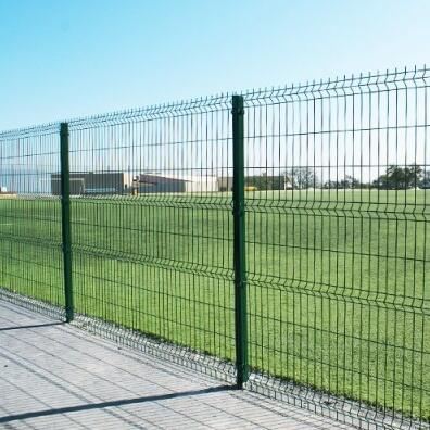 Wire mesh fence2